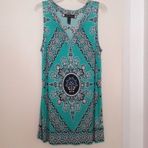 INC Embellished Tunic